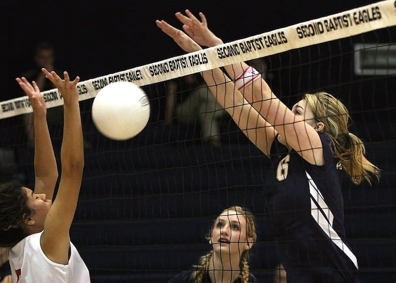 Can volleyball increase height